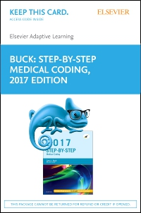 cover image - Elsevier Adaptive Learning for Step-By-Step Medical Coding, 2017 edition (Access Card)