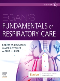 cover image - Egan's Fundamentals of Respiratory Care,12th Edition