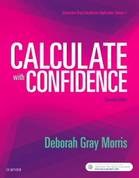 cover image - Drug Calculations Online for Calculate with Confidence,7th Edition