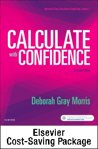 cover image - Drug Calculations Online for Calculate with Confidence (Access Card and Textbook Package),7th Edition