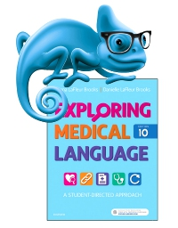 cover image - Elsevier Adaptive Learning for Exploring Medical Language,10th Edition