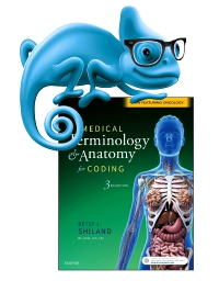 cover image - Elsevier Adaptive Learning for Medical Terminology & Anatomy for Coding,3rd Edition