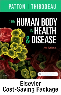 cover image - The Human Body in Health & Disease - Text and Elsevier Adaptive Learning Package,7th Edition