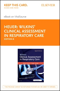 cover image - Wilkins' Clinical Assessment in Respiratory Care - Elsevier eBook on VitalSource (Retail Access Card),8th Edition