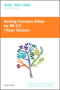 cover image - Nursing Concepts Online for RN 2.0: Texas Version (Access Card),2nd Edition