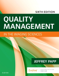 cover image - Quality Management in the Imaging Sciences,6th Edition