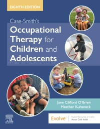 cover image - Case-Smith's Occupational Therapy for Children and Adolescents,8th Edition