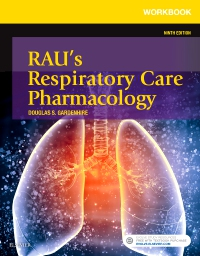 cover image - Workbook for Rau's Respiratory Care Pharmacology - Elsevier eBook on VitalSource,9th Edition