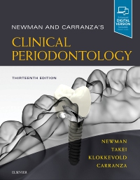 cover image - Newman and Carranza's Clinical Periodontology,13th Edition