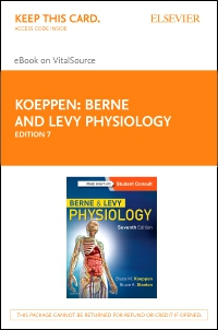 cover image - Berne and Levy Physiology Elsevier eBook on VitalSource (Retail Access Card),7th Edition