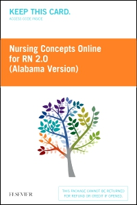 cover image - Nursing Concepts Online for RN 2.0: Alabama Version,2nd Edition