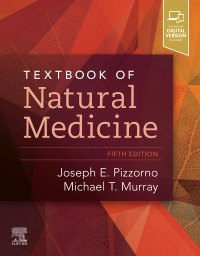 cover image - Textbook of Natural Medicine - Elsevier eBook on VitalSource,5th Edition