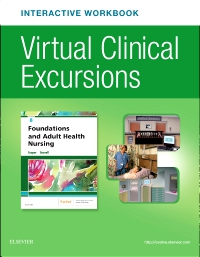 cover image - Virtual Clinical Excursions Online and Print Workbook for Foundations and Adult Health Nursing,8th Edition