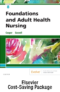 cover image - Foundations and Adult Health Nursing – Text and Virtual Clinical Excursions Online Package,8th Edition