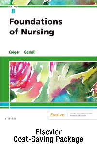 cover image - Foundations of Nursing – Text and Virtual Clinical Excursions Online Package,8th Edition