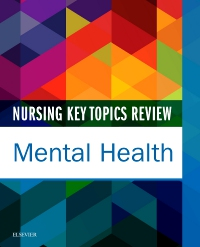 cover image - Nursing Key Topics Review: Mental Health - Elsevier eBook on VitalSource