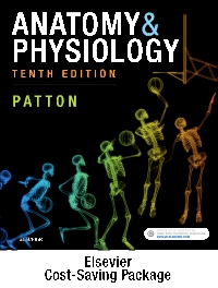 cover image - Anatomy and Physiology - Text and Elsevier Adaptive Quizzing Package,10th Edition