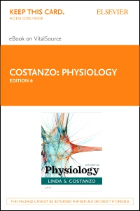 cover image - Physiology Elsevier eBook on VitalSource (Retail Access Card),6th Edition