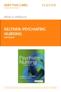 cover image - Psychiatric Nursing - Elsevier eBook on VitalSource (Retail Access Card),8th Edition