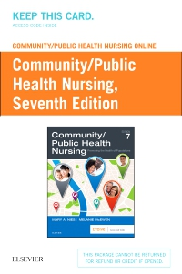 cover image - Community/Public Health Nursing Online for Nies and McEwen: Community/Public Health Nursing (Access Code),7th Edition