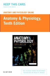 cover image - Anatomy and Physiology Online for Anatomy and Physiology (Access Code),10th Edition