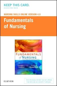 cover image - Nursing Skills Online Version 4.0 for Fundamentals of Nursing (Access Card)