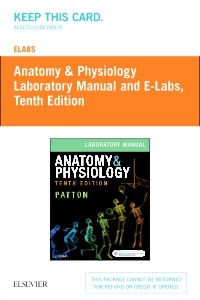 cover image - eLabs for Anatomy & Physiology (Access Code),10th Edition