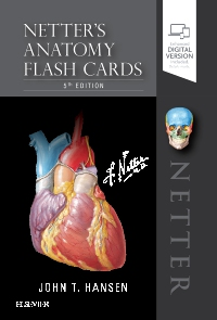 cover image - Netter's Anatomy Flash Cards,5th Edition