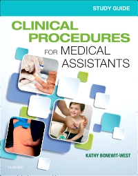 cover image - Study Guide for Clinical Procedures for Medical Assistants - Elsevier eBook on VitalSource,10th Edition