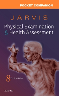 cover image - Pocket Companion for Physical Examination and Health Assessment,8th Edition