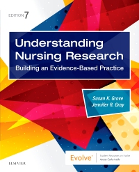 cover image - Understanding Nursing Research,7th Edition