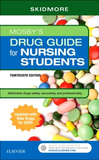cover image - Mosby's Drug Guide for Nursing Students with 2020 Update,13th Edition