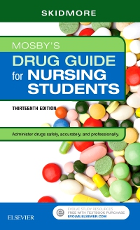 cover image - Evolve Resources for Mosby's Drug Guide for Nursing Students,13th Edition