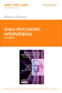 "cover image - Psychiatric Interviewing ""Elsevier E-Book on VitalSource (Retail Access Card)"",3rd Edition"