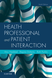 cover image - Health Professional and Patient Interaction,9th Edition
