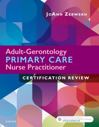 cover image - Adult-Gerontology Primary Care Nurse Practitioner Certification Review -  Elsevier eBook on VitalSource