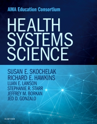 cover image - Health Systems Science Elsevier eBook on Vital Source