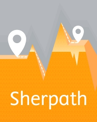 cover image - Sherpath plus 1-Color Print for Leadership and Management in Nursing (Huber Version),5th Edition