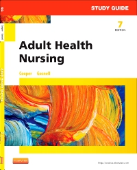 cover image - Study Guide for Adult Health Nursing - Elsevier eBook on VitalSource,7th Edition
