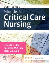 cover image - Priorities in Critical Care Nursing - Elsevier eBook on VitalSource,8th Edition