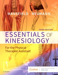 cover image - Essentials of Kinesiology for the Physical Therapist Assistant,3rd Edition