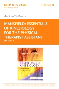 cover image - Essentials of Kinesiology for the Physical Therapist Assistant Elsevier eBook on VitalSource (Retail Access Card),3rd Edition