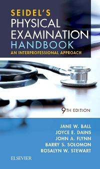 cover image - Seidel's Physical Examination Handbook - Elsevier eBook on VitalSource,9th Edition