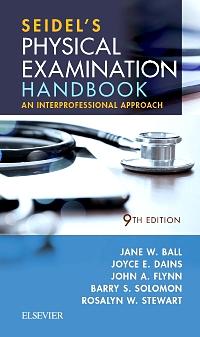 cover image - Seidel's Physical Examination Handbook,9th Edition