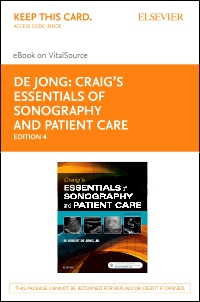 cover image - Craig's Essentials of Sonography and Patient Care - Elsevier eBook on VitalSource (Retail Access Card),4th Edition