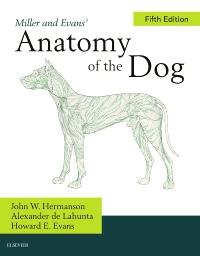 cover image - Miller's Anatomy of the Dog,5th Edition