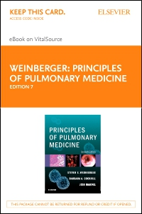 cover image - Principles of Pulmonary Medicine Elsevier eBook on VitalSource (Retail Access Card),7th Edition