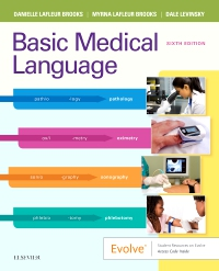 cover image - Basic Medical Language with Flash Cards Elsevier eBook on VitalSource,6th Edition