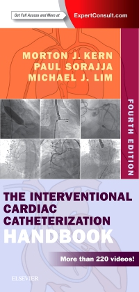 cover image - The Interventional Cardiac Catheterization Handbook Elsevier eBook on VitalSource,4th Edition