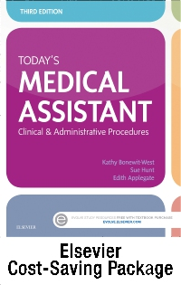 cover image - Today's Medical Assistant - Text, SG, and Checklists,3rd Edition